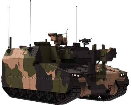 AS10 Armoured Ammunition Resupply Vehicle